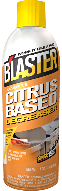 CITRUS BASED DEGREASER – Blastercorp